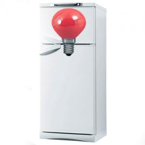 Холодильник Саратов горит красная лампочка